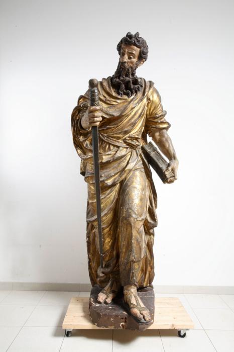 Skulpture Svetih Petra I Pavla U Trogirskoj Crkvi Sv Petra